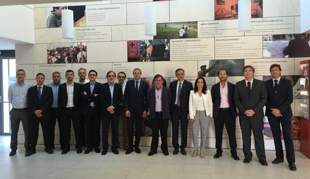 Hidraqua celebra su Comité de Dirección en las instalaciones de Cruz Roja Alicante
