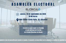 Asamblea Electoral El Círculo Directivos de Alicante